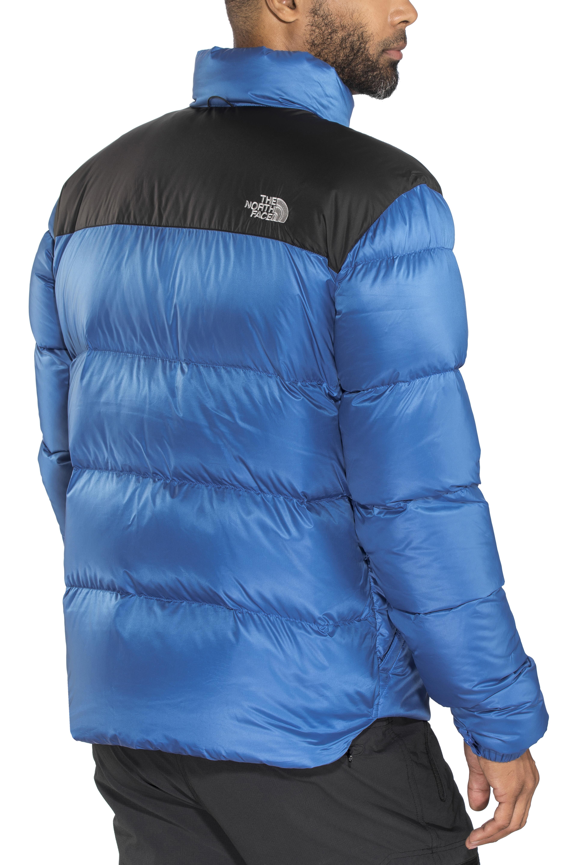 The North Face Nuptse III Jacket Men blue black at Addnature.co.uk 3f4cf8b71